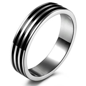 Other - Stainless Steel Engagement Band Ring Size: 8